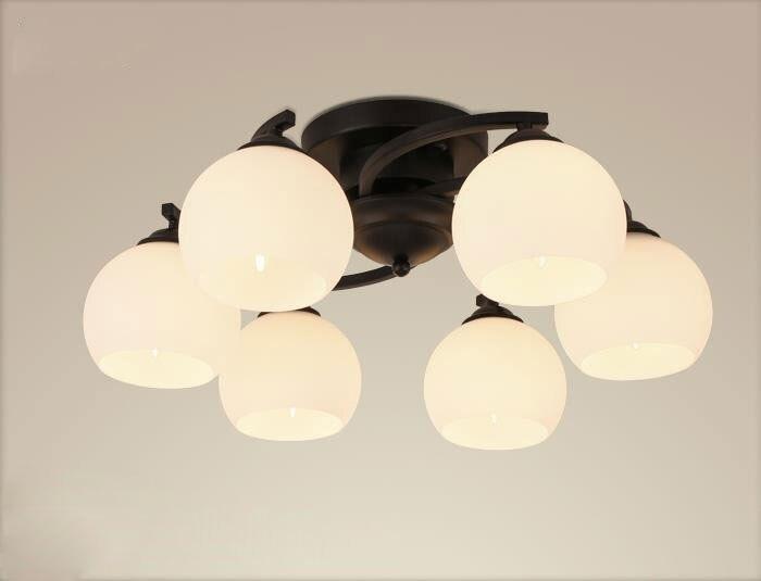 Aliexpress Moderne Schmiedeeisen Decken Kronleuchter Windmhle Lampe Lustre Art Deco Wohnzimmer Schlafzimmer Home Beleuchtung Ast Lamba Lampara Von