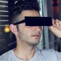 Lidar com ele Óculos de Grandes Dimensões de Pixel Mosaico Dos Homens Das Mulheres Óculos De Sol Femininos Masculinos Óculos de Sol das Mulheres Dos Homens
