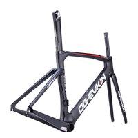 OG-EVKIN Carbon Bike Road Frame 2018 Carbon Road Bicycle Frame UD Matt Aero Carbon Road Frameset 48 50 52 54 cm 1