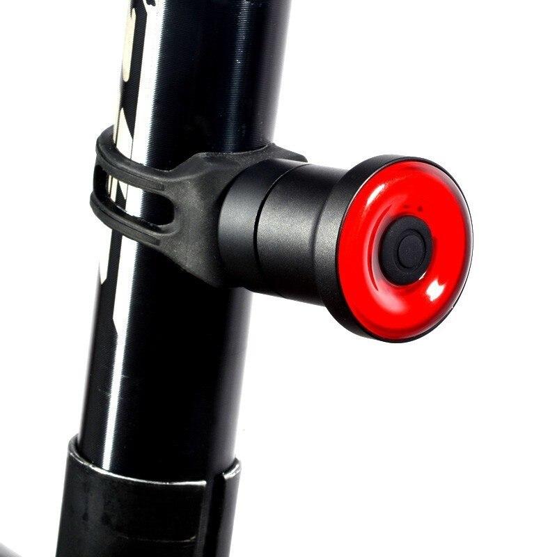 XLITE100 LED linterna de bicicleta para bicicleta de arranque automático/freno parada de IPx6 impermeable USB Smart luz de freno trasera