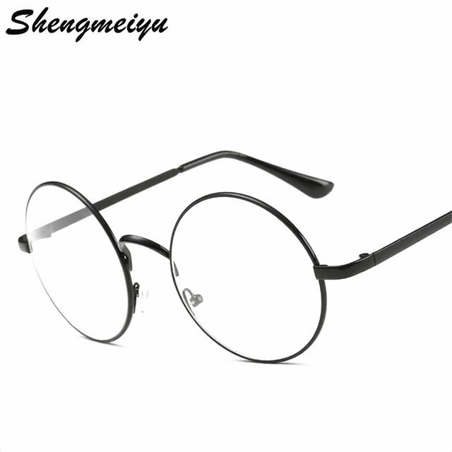 Round Spectacle Frames Women Men Optical Frame Transparent Glasses ...