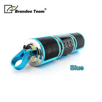Haut Parleur De Vélo Bluetooth | Haut-parleurs De Lecteur MP3 Bluetooth Moto Système Audio De Moto USB TF FM Radio Stéréo Haut-parleurs De Musique