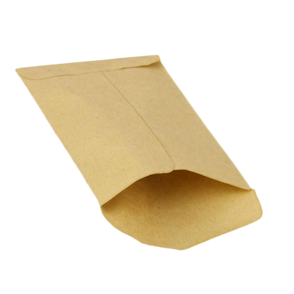100 Pcs/pack Small Kraft Paper Gift Candy Bag Vintage Wedding Brown Paper 6*10cm