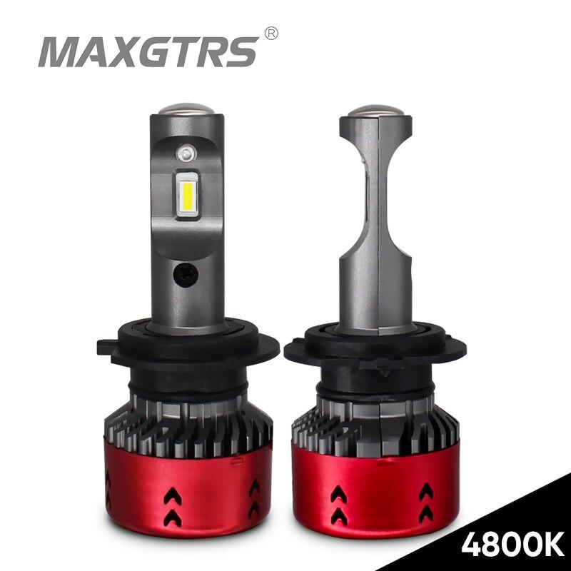 2x4800 karat High Power LED Auto Scheinwerfer Lampen H1 H7 H11/H8 9005 HB3 9006 881 880 9012 H3 D1 D2 D3 D4 Auto Scheinwerfer Licht Mini Typ