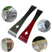 Mutifunction Stainless Steel Prybar and Scraper Razor Sharp Scraper Edges for Nail and Tack Pulling Prying and Scraping