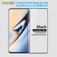 Oneplus 7 Pro Original MOFi 9 H 3D Dobra Quente Curvo Completa Tampa de Vidro Temperado Filme Protetor de Tela Para Oneplus 7 Pro