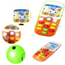 Музыкальный инструмент для ребенка электронный телефон музыкальная игрушка мини милый детский, для мобильного телефона телефон развивающие игрушки
