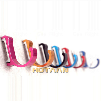 1 pc/ lot Candy Color Decorative Wall hooks& racks,Clothes hanger & Metal & Towel & coat&Robe hook.Bathroom Accessories HYT-3000 1