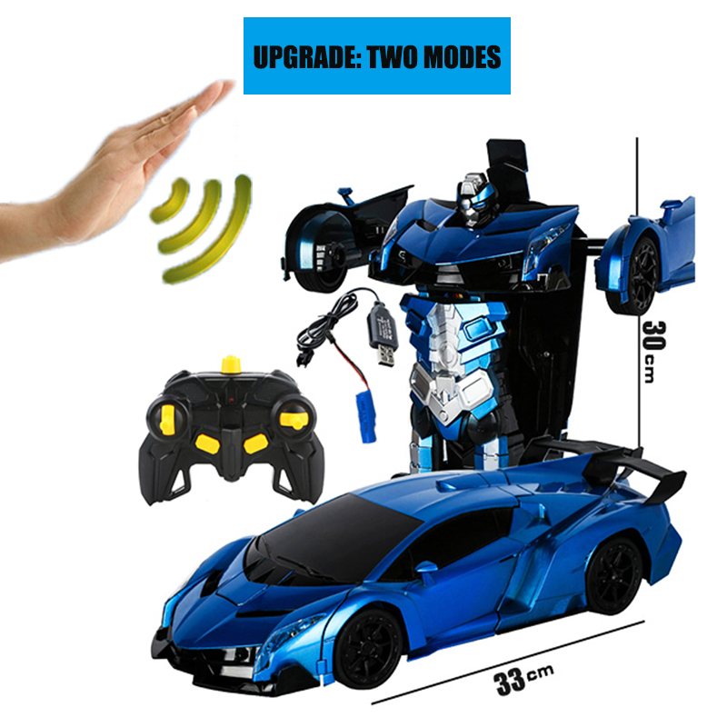 Image 2 - 2019 Hot Selling 1/14 Remote Control Car  Gesture Sensor Deformation rc Cars-in RC-машины from Игрушки и хобби on AliExpress - 11.11_Double 11_Singles' Day