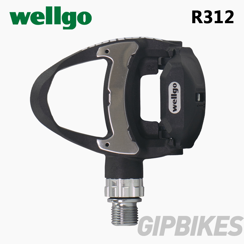 Wellgo R312 249g Ultra Light Carbon Road Bicycle Clipless Pedals with 3 Bearing look keo Compatible include two pairs cleats in Bicycle Pedal from Sports Entertainment