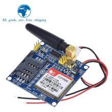 Sim900a sim900 mini v4.0 módulo de transmissão dados sem fio gsm gprs placa kit com antena c83