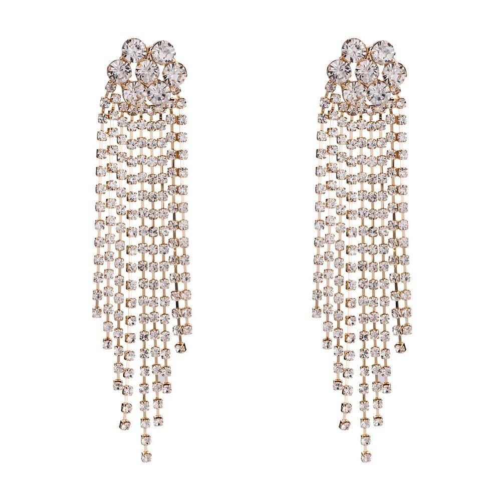Statement Large Big Multi Coloured Glitter Flower Faux Pearl Drop Dangle Earring