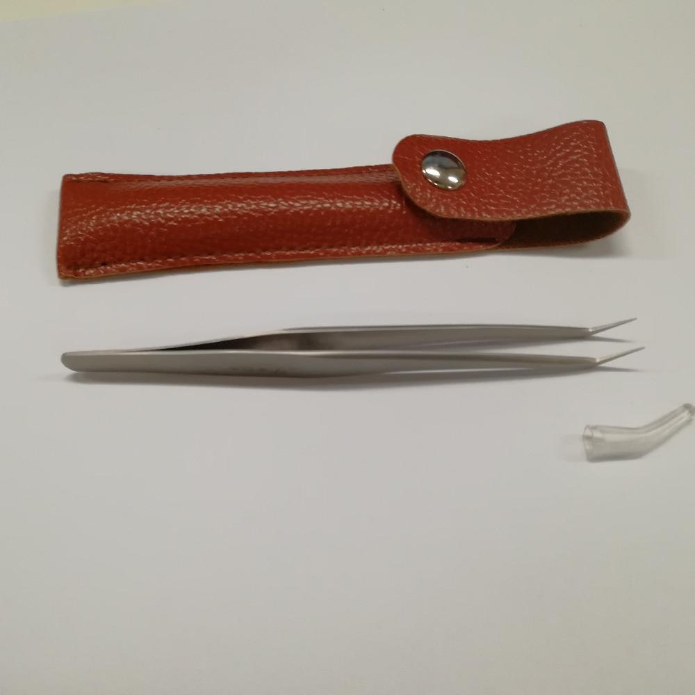 Top Quality Eyelash Vetus Tweezers Stainless Steel for Eyelash Extension Tools Free Shipping