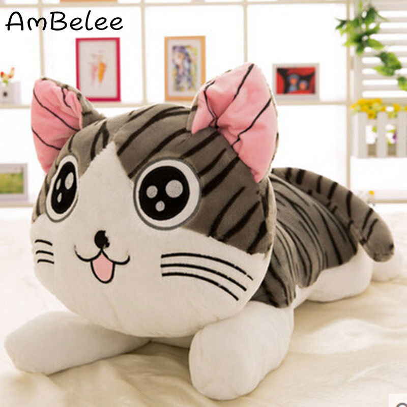 Ambelee Kawaii 30Cm Cat Plush Doll PP Cotton Soft Toys For Children Cute Animals Stuffed Toys Birthday Gift For Kids