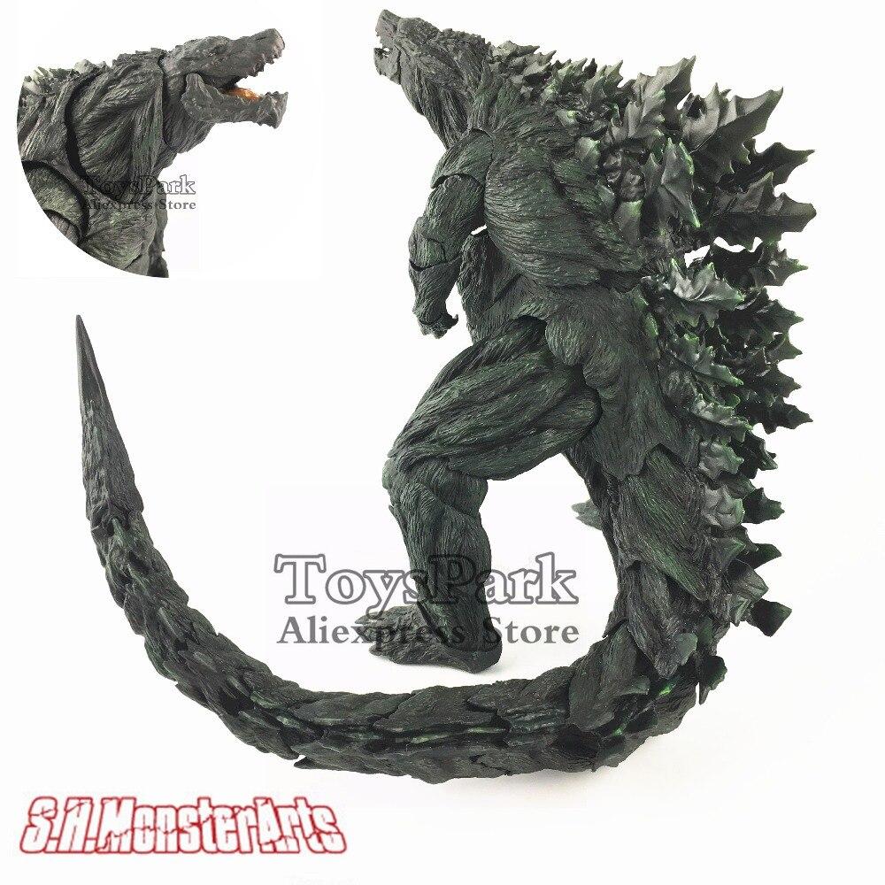 S. H. MonsterArts Годзилла земля Монстр планета фильм 2017 первый ограниченный выпуск 8 фигурку аритикуляции хвост коллекционные свободные