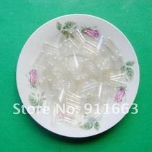 1#5000 шт прозрачные пустые вегетарианские капсулы, целлузные капсулы HPMC размеров 1,(закрытые или отдельные Капсулы доступны