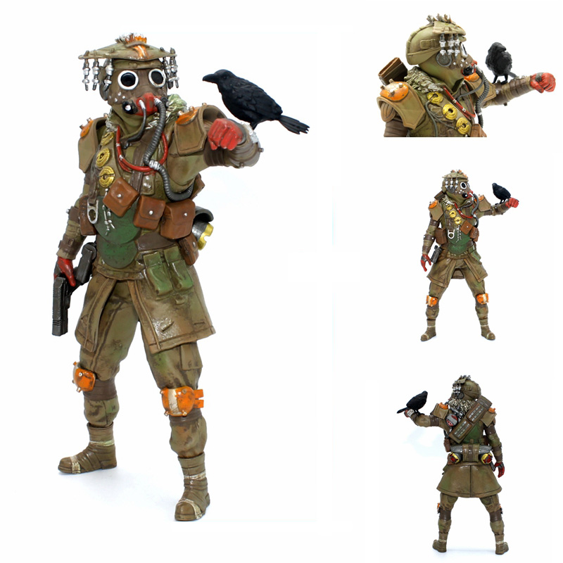21cm <font><b>Apex</b></font> Legends figure <font><b>Toys</b></font> <font><b>Apex</b></font> Game PVC Action Figures <font><b>toys</b></font> <font><b>Apex</b></font> Legenos Anime figure <font><b>Toys</b></font> For Kids children Christmas Gifts image