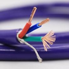 Аудиокабель 6n ofc 4 квадратных кабеля питания оптовый кабель