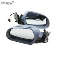 2 шт. зеркало автомобиля для Skoda Octavia A6 MK2 2009 2010 2011 2012 2013 автомобиль Стайлинг с подогревом Электрический крыло сбоку зеркало заднего вида