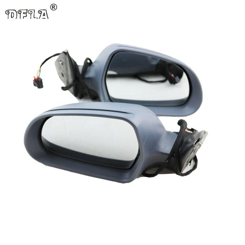 2 pcs Miroir De Voiture Pour Skoda Octavia A6 MK2 2009 2010 2011 2012 2013 Voiture-Style Chauffée Électrique Aile côté Arrière Miroir