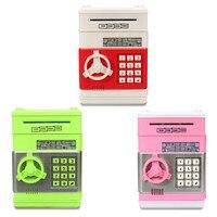 Safurance Mini Piggy Bank ATM Money Box Safety Electronic Password Cash Deposit Machine Security Safes