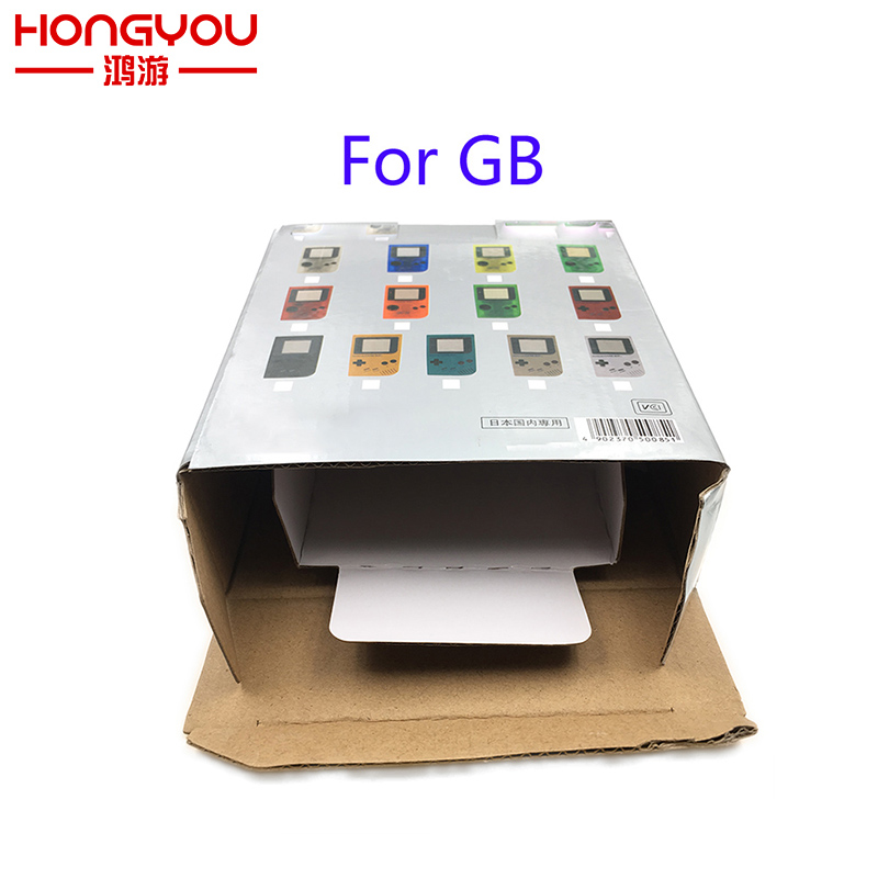 5Pcs New Packing Box For Gameboy GB Retail Packing With Logo For GB Carton