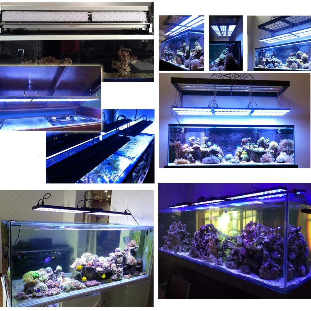 WIFI marine aquarium led lighting Dimmable led aquarium light for ...