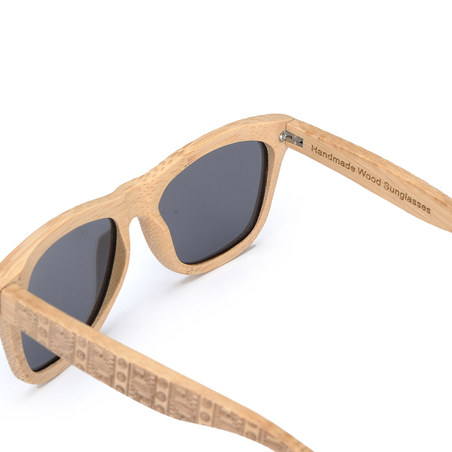 BOBO BIRD - Retro Bamboo Sunglasses 4