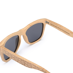 Image 5 - BOBO BIRD Brand Retro Bamboo Sunglasses Women And Men With Silver Polarized Lens Glasses As Best Mens Luxury Gifts C DG06a