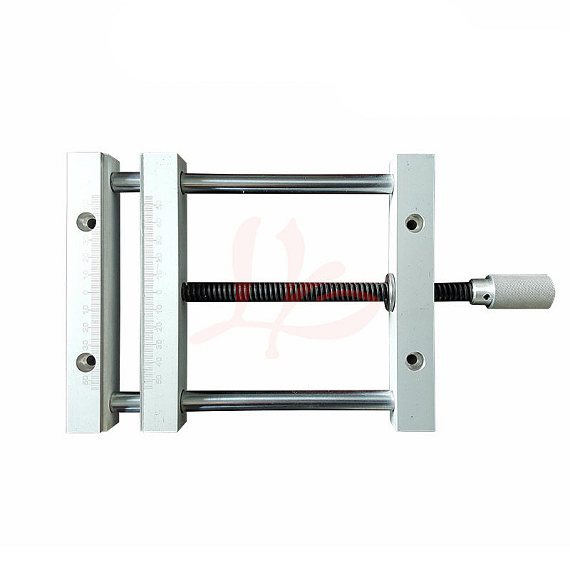 CNC Router Machine Hand Tool Mini Portable Aluminum Alloy Table Vise Press Precision Drill Tool Wood Fixture Jig Clamp QGG