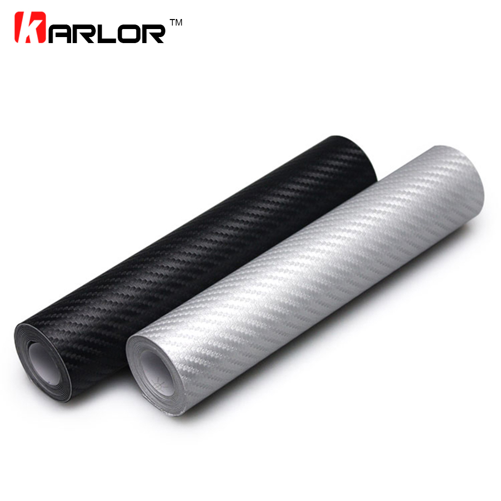 127cmx20cm Car Styling 3D Carbon Fiber Vinyl Wrap Roll Film Auto Motorcycle Car Accessories Car Styling Stickers And Decals 10x152cm 5d high glossy carbon fiber vinyl film car styling wrap motorcycle car styling accessories interior carbon fiber film