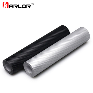127cmx20cm Car Styling 3D Carbon Fiber Vinyl Wrap Roll Film Auto Motorcycle Car Accessories Car Styling Stickers And Decals