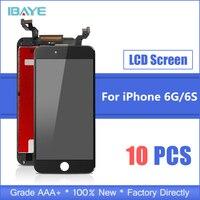 10 шт. AAA Качество для iPhone 6 S 6 S ЖК экран с 3D сенсорным дигитайзером сборка Замена i телефон ЖК дисплей без битых пикселей