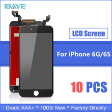 10 PCS AAA Quality For iPhone 6S 6 S LCD Screen With 3D Touch Digitizer Assembly Replacement i Phone LCD Display No Dead Pixel