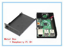 Exclusive Design ! Metal Box- For Raspberry Pi B+ Model B Plus With Fan Also Fit For Camera+ Raspberry Pi Model B+