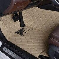 Полностью окружении автомобильные коврики для Mitsubishi Outlander специальная окружении новые кожаные окружающей среды автомобилей пять мест ковр