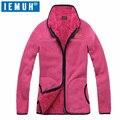 IEMUH New Sport Outdoor Hiking Jacket Women Thicken Brand Fleece Jacket Windproof Warm Winter Coat Polar Fleece Camping Jacket