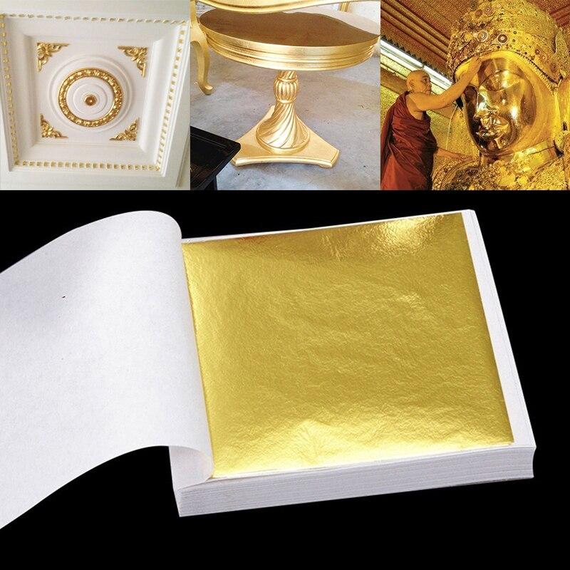 Decorative Stickers Gold Foil Ornaments Foildecal Goldfoil 24kgoldfoil Line Stickers 100pcs Art Ceiling shoulder bag