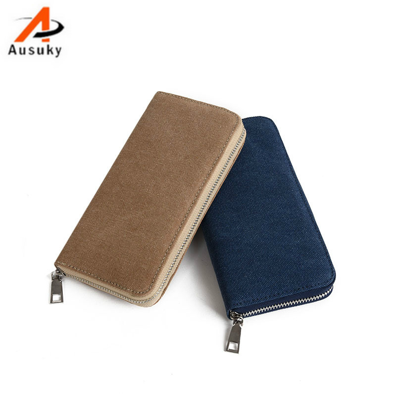 Fashion Luxury Brand Men Wallets Cavans Male Purse Business Male Clutch Wallet carteira masculina#30
