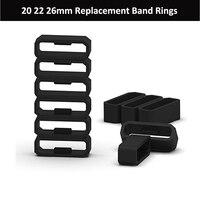 20 Mm 22 Mm 26 Mm Zachte Siliconen Ringen Voor Garmin Fenix 5 5X5 S Siliconen Vervanging Band-in Reparatiemiddel & Kits van Horloges op