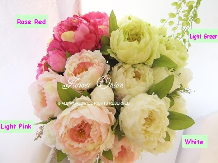 Aliexpress buy 7 heads large silk peony bridal bouquet aliexpress buy 7 heads large silk peony bridal bouquet artificial flower arrangement wedding party christmas home decorations flowers2pcs from mightylinksfo