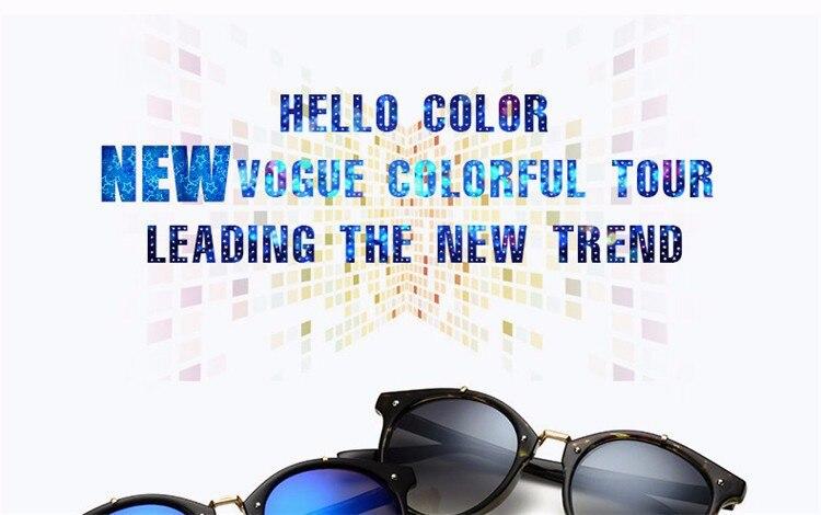 Fashion Vintage Round Sunglasses Women Men Brand Designer Retro Mirror Sunglass Ladies Female Male Sun Glasses For Women Glasses (5)