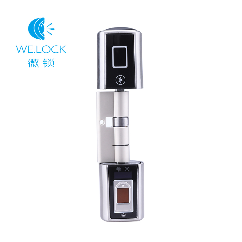 Nous. verrouiller la serrure de porte intelligente empreinte digitale double côté APP contrôle pour la serrure de bureau à domicile
