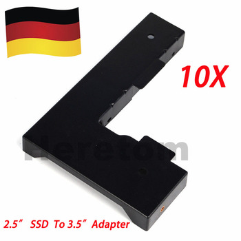 "DE Shipping 9w8c4/FRU00FC28 2.5"" SSD/sas/sata to 3.5"" hdd transform Tray Caddy for dell/HP f238/KG1CH/651314-001/lenovo 03T8898"