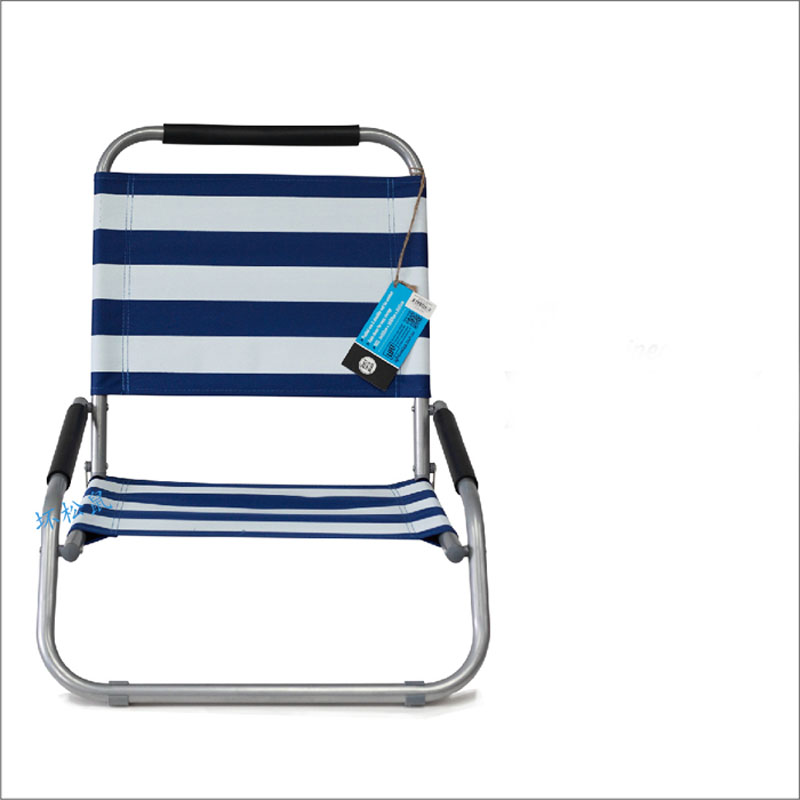 Oxford Fabric Lounge Beach Chair