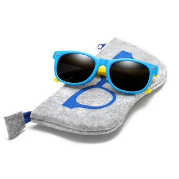 Z torbą gumowe TR90 dzieci UV spolaryzowane okulary przeciwsłoneczne okulary przeciwsłoneczne dla dzieci okulary przeciwsłoneczne polaroid dla dziewczynek chłopcy okulary dla dzieci okulary tanie i dobre opinie RUISIMO SQUARE Dla dorosłych Z tworzywa sztucznego UV400 4 2CM Z poliwęglanu 4 8CM
