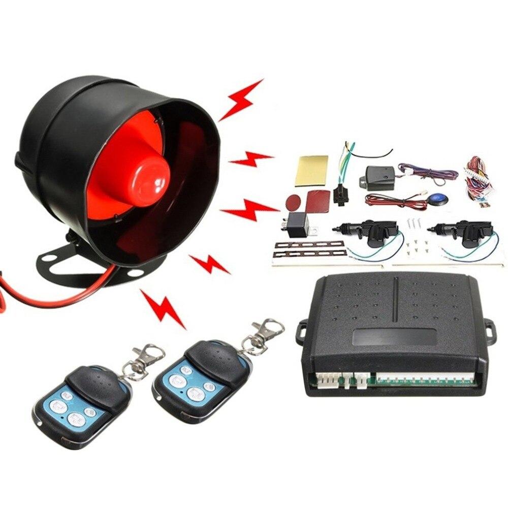 NewNew universel voiture alarme télécommande système de sécurité 2 portes Central porte serrure Kit de verrouillage Set système d'entrée sans clé