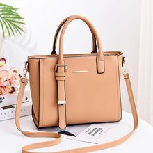 Women's bag new European and American fashion trend big bag PU leather Messenger shoulder bag handbag gete new crocodile handbag fashion luxury european and american leather handbag bag socialite high capacity female bag