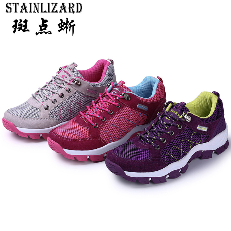 Ms. 2016 new arrival women shoes breathable mesh casual shoes fashion style tide outdoor fitted female lace-up shoes hot DT594