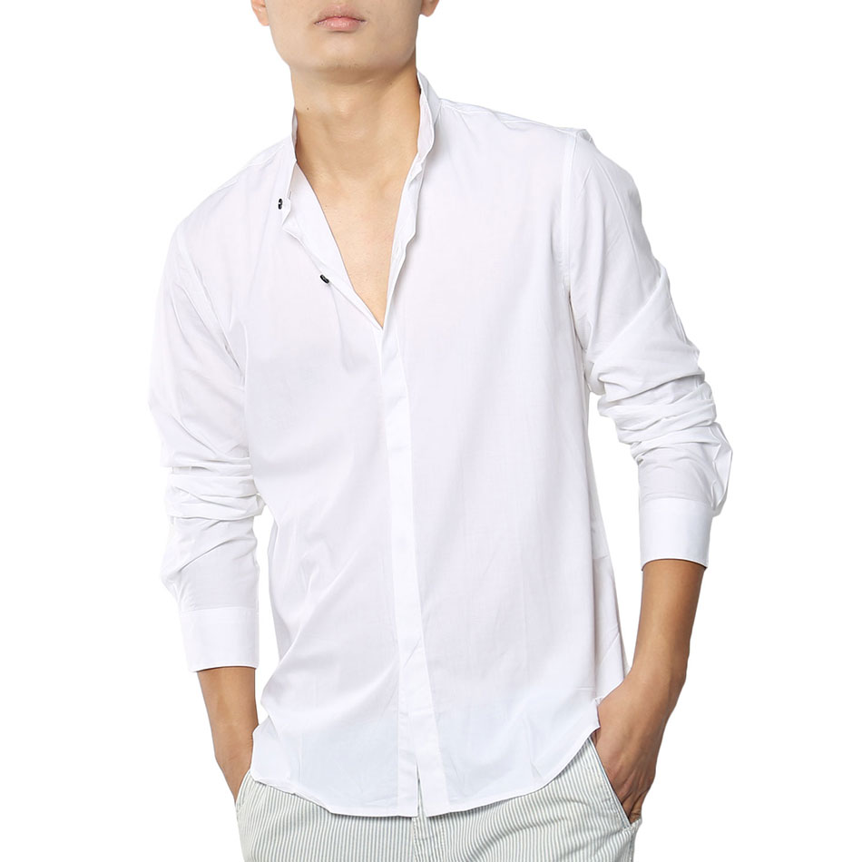Aliexpress.com : Buy Men Office Dress Shirts Work Long Sleeve ...